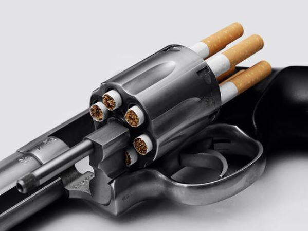Ce schéma montre les répercussions de la nicotine sur le cerveau