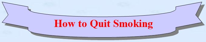 How to be nonsmoker?